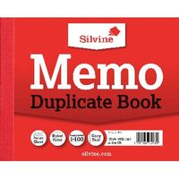 Silvine Carbon Memo Duplicate Book, 100 Pages (Pack of 12) - 603