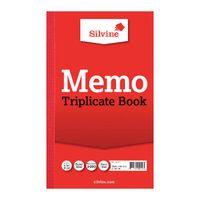 View more details about Silvine Carbon Triplicate Memo Ruled Book, 100 Pages - Pack of 6 - 605