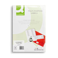 Q-Connect Full Face CD/DVD Label, Pack of 100 - KF05608