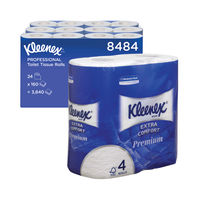 View more details about Kleenex Quilted Toilet Rolls (Pack of 24) – 8484