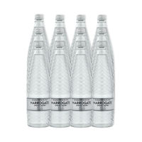 View more details about Harrogate 750ml Sparkling Spring Water Glass Bottles, Pack of 12 | G75012 2C