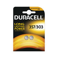 View more details about Duracell 1.5V Silver Oxide Button Battery (Pack of 2) 75053932