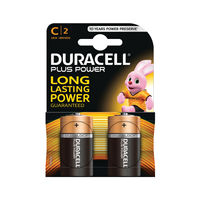 View more details about Duracell Plus C Batteries, Pack of 2 - 81275429