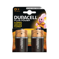 View more details about Duracell D Plus Power Batteries, Pack of 2 - 81275443