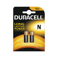 View more details about Duracell 1.5V N Remote Control Battery MN9100 (Pack of 2) 81223600