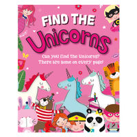 View more details about Find the Unicorns Activity Book (Pack of 12) 27075-UNIC