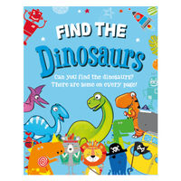 View more details about Find the Dinosaurs Activity Book (Pack of 12) 27072-DINO