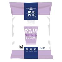 Tate & Lyle Fairtrade Vending Sugar 2kg - Pack of 6 - A00696PACK
