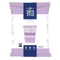 Tate & Lyle Fairtrade Vending Sugar 2kg - Pack of 6 - A00696PACK