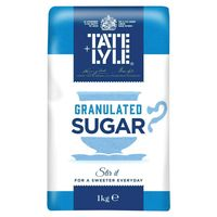 View more details about Tate and Lyle Granulated Sugar 1 kg (Pack of 15) A06636