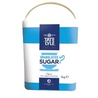 Tate & Lyle Fairtrade Granulated Sugar 3kg - TS165