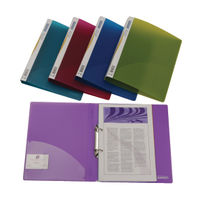 10 x Rapesco A4 25mm Ring Binders in Assorted Colours - 0716