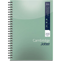 Cambridge A4 Ruled Margin Wirebound Notebooks, Pack of 3 - 400039062
