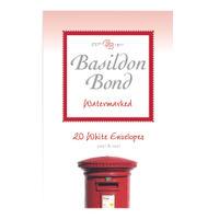 Basildon Bond Duke White Small Envelopes, 95 x 143mm, 10 Packs x 20 - JD90421