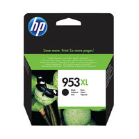 View more details about HP 953 XL Black Ink Cartridge - High Capacity L0S70AEBGX
