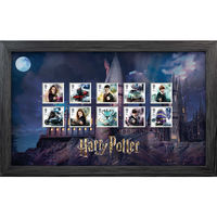 The Harry Potter Framed Stamp Set