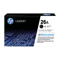 View more details about HP 26A Black Toner Cartridge - CF226A