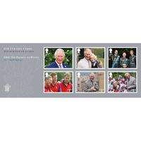 HRH Prince Charles' 70th Birthday Miniature Sheet - MZ136
