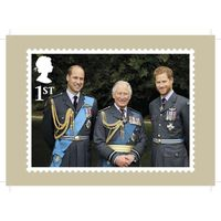 HRH Prince Charles' 70th Birthday Stamp Card Pack - AQ271