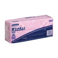 Wypall Red X50 Cleaning Cloths, Pack of 50 - 7444