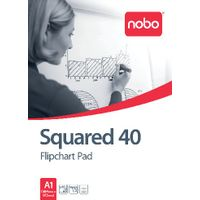 Nobo A1 Squared Flipchart Pads, Pack of 5 - 34631166
