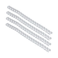 View more details about GBC White A4 9.5mm Binding Wires - Pack of 100 - RG810670