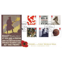 Centenary of the Great War 2015 Stamps First Day Cover - BC524