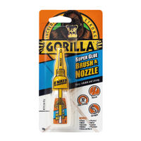 Gorilla 10g Brush and Nozzle Super Glue - 100669