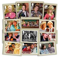 Coronation Street Stamp Cards