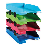 View more details about Exacompta Carbon Neutral Letter Trays, Pack of 4 - 1131928SETD