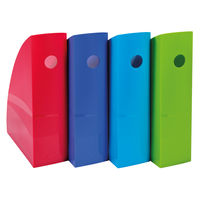 View more details about Exacompta Carbon Neutral Magazine Files, Pack of 4 - 1821928SETD