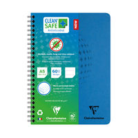 View more details about Clean Safe A5 Notebook 120 Pages 82566C
