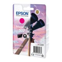 Epson Singlepack 502 Magenta Ink Cartridge - C13T02V34010