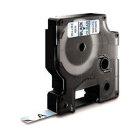 View more details about Dymo D1 Standard Label Tape Black on Clear - S0720670