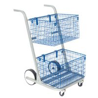 Go Secure Major Two Tier Mail Trolley - 433225