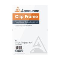 Announce A4 Clip Frame - CF2130NG