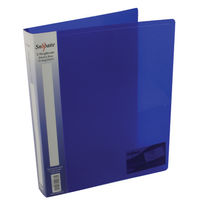 View more details about Snopake Electra Blue A4 2 O-Ring Binder 25mm, Pack of 10 - SK03894