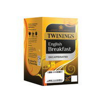 View more details about Twinings English Breakfast Decaffeinated Envelope Tea Bag Pk20x4 F12423