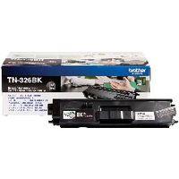 Brother TN-326BK Black Toner Cartridge - High Capacity TN326BK