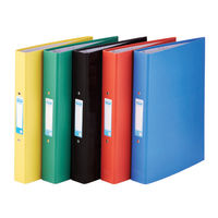 View more details about Elba A4 Assorted 2 O-Ring Binders, 25mm, Pack of 10 - 400033510