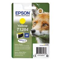 Epson T1284 Yellow Ink Cartridge - C13T12844012