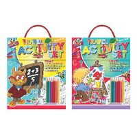 View more details about Artbox Children's Activity Set (Pack of 6) - 6893