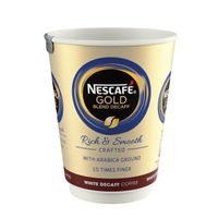 View more details about Nescafe & Go White Decaffeinated Coffee (Pack of 8) 12368080