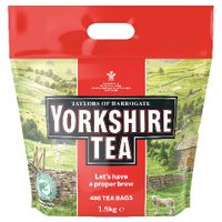 View more details about Yorkshire Tea Soft Water Tea Bags (Pack of 480)