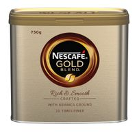 Nescafe Gold Blend Instant Coffee 750g Tin - 12284102