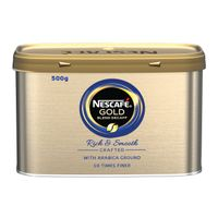 View more details about Nescafe Gold Blend Decaffeinated Instant Coffee 500g Tin