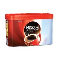 Nescafe Original Coffee Granules, 500g Tin - 12081372