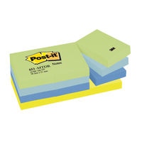 Dream Colour 38 x 51mm Post-it Notes, Pack of 12 - 653MT