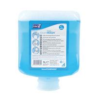 View more details about Deb Refresh Azure Foam Wash 1 Litre Cartridge (Pack of 6) AZU1L