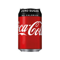 View more details about Coca-Cola Zero 330ml Cans, Pack of 24 | 402003